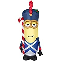 Holiday Living 3.5 ft. Lighted Minion Christmas Inflatable