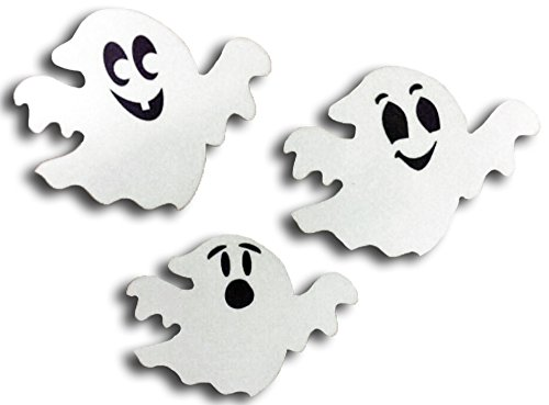 Reflective Ghosts Car Magnets -