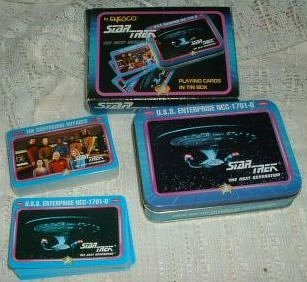 Star Trek the Next Generation Playing Cards in Tin Box ()