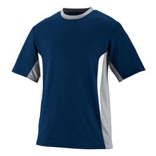 3-Color Athletic Wicking Crewneck Augusta Surge Jersey Uniform (All-Sports: Baseball, Softball, Soccer, etc)