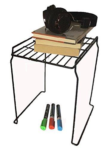 Stacking Locker - Grayline 40160, Locker Stacking Shelf, Black