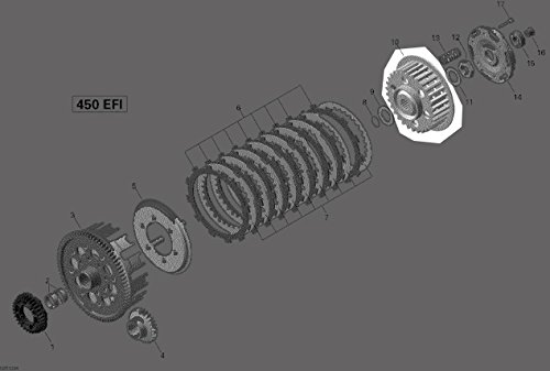 can am ds 450 clutch - 7