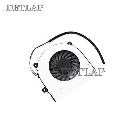 DBTLAP Laptop Fan Compatible for Clevo W230SS W230ST W230N W230SD W350ET W370S W370ST W350STQ Laptop CPU Cooling Fan