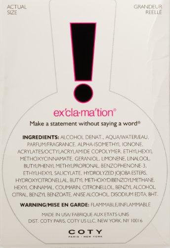 031655095004 - Exclamation Cologne Spray by Coty, 1.7 Fluid Ounce carousel main 1