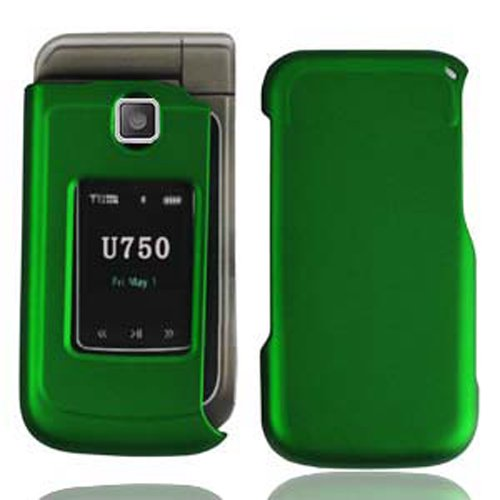 LF Designer Hard Case Cover with Lf Stylus Pen bundle For Verizon Samsung U750 Zeal, Alias 2 (Green) (Faceplates Phone Samsung)