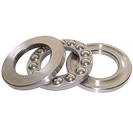 Thrust Ball Bearing MASO 51203 Single Direction Thrust Ball Bearings Thrust Bearing Roller Bearing with Bearings Ring /& Washers Ring /& Rolling Ring Pack of 10