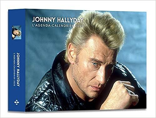 Amazon Fr L Agenda Calendrier Johnny Hallyday 2020