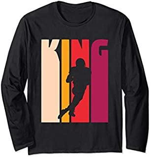 [Featured] Gift for Football Player Coach Fan 'Football King' Football Long Sleeve in ALL styles | Size S - 5XL