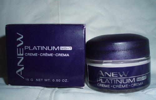Avon Anew Platinum Night Cream .50 Oz