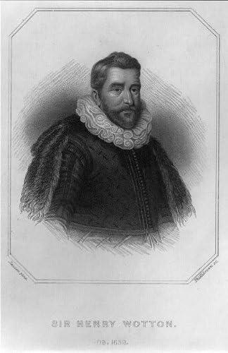 Infinite Photographs Photo: Sir Henry Wotton,1568-1639,English author,diplomat