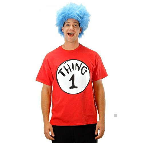 Thing 1 And Thing 2 Costumes For Tweens (Thing 1 and Thing 2 Costumes Adult Dr Seuss Halloween Fancy Dress)