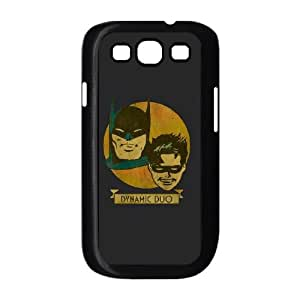 Samsung Galaxy S3 9300 Cell Phone Case Black_Batman and Robin Dynamic Duo Yebxm