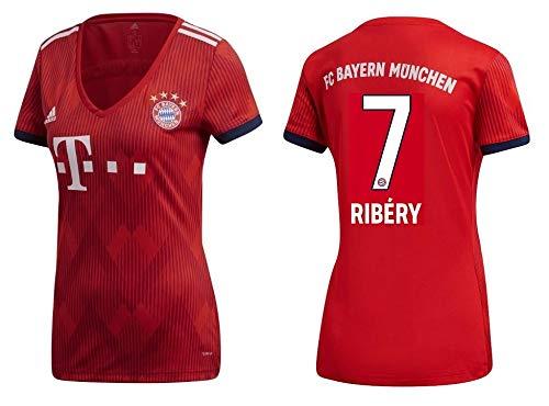 Ribery 7 FCB Trikot Damen 2018-2019 Home