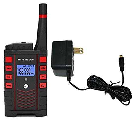Amazon com: Ambient Weather WR-091 Rechargeable Emergency