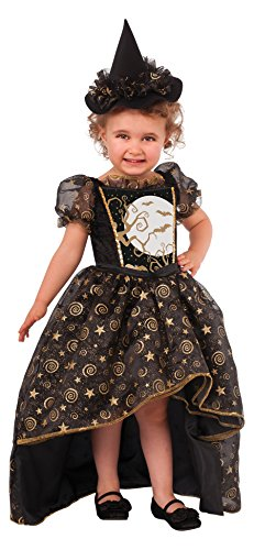 Girls Glitter Witch Costumes (Rubie's Costume Glitter Witch Child Costume, Toddler)