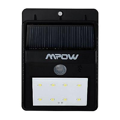 Mpow Super Bright Solar-Powered Spotlight