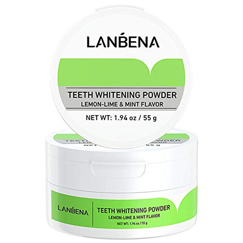 Teeth Cleaning Powder Lemon Mint Flavor Dirty Remove Oral Care for Remove Tartar Safe Protect Teeth Keep Fresh Breath Tooth Whitening