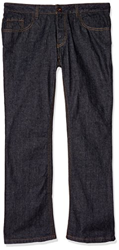 Dickies Occupational Workwear FD231RNB 18 RG Denim Cotton Relaxed Fit Women's 5-Pocket Jean with Boot Cut Leg, 18 Regular, 31-1/2