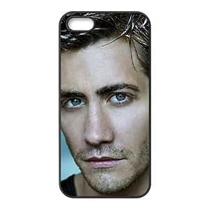 Jake Gyllenhaal 001 funda iPhone 4 4S caja funda del teléfono celular del teléfono celular negro cubierta de la caja funda EOKXLKNBC10030