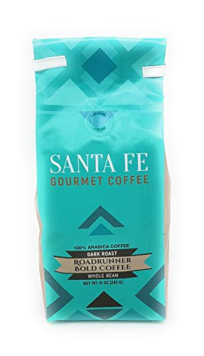 (Santa Fe Gourmet Road Runner Coffee Whole Bean 12 oz bag)