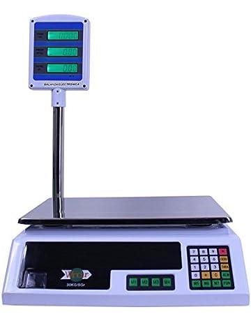 Báscula Digital Windur LCD ML2 con torre LCD (capacidad max. 30Kg)