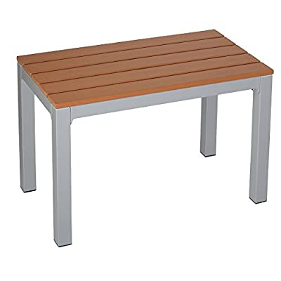 Cortesi Home Avery Aluminum Outdoor Picnic Bench