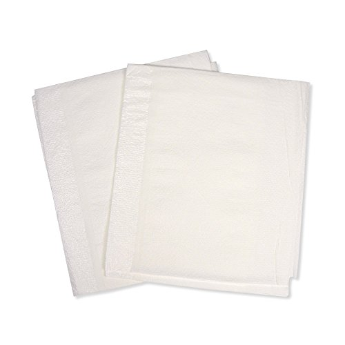 PDC Healthcare SP-8211 Drape Sheet for Patients and Equipment, Poly, 30'' x 48'', White (Pack of 100) by PDC Healthcare