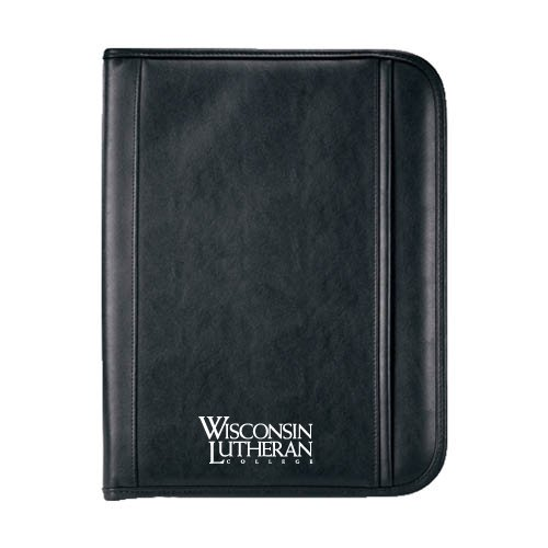 Wisconsin Lutheran Insight Calculator Padfolio 'Wisconsin Lutheran College Stacked'