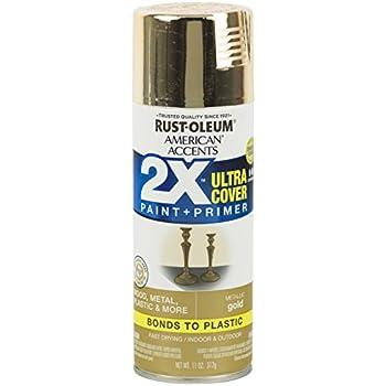 Krylon K05588007 Colormaxx Spray Paint Aerosol Gold