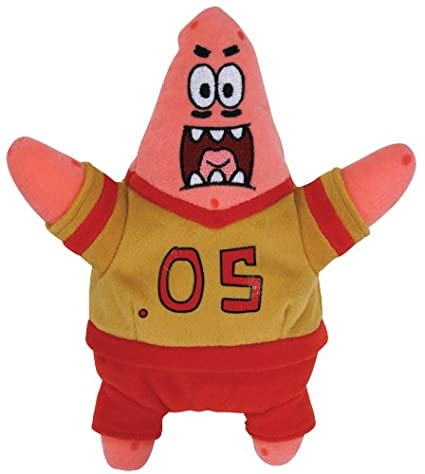 34c8865ec36 Image Unavailable. Image not available for. Color  TY Beanie Babies -  Football Patrick Star