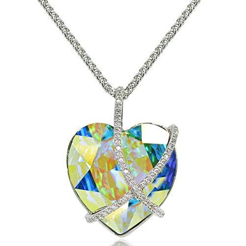 - GemStar USA Aurora Borealis Criss Cross Engraved