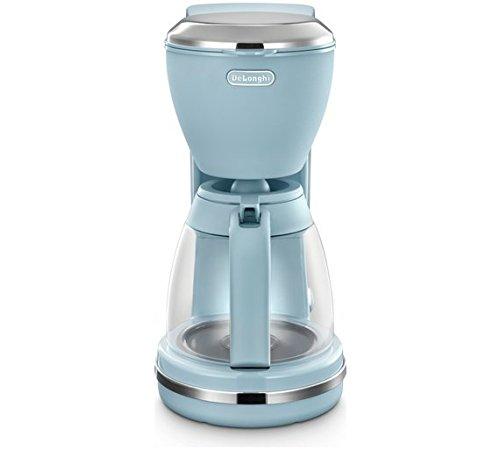 Delonghi Icmx210gr Argento Flora Coffee Maker Blue