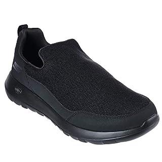 Skechers Men's Gowalk Max Privy-Slip-On Walking Shoe Sneaker, black, 13 XW US