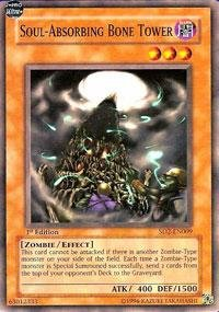(Yu-Gi-Oh! - Soul-Absorbing Bone Tower (SD2-EN009) - Structure Deck 2: Zombie Madness - Unlimited Edition - Common)