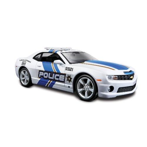 Maisto 31208 - Véhicule Miniature - Modèle À L'échelle - Chevrolet Camaro Ss Rs Police - 2010 - Echelle 1/24