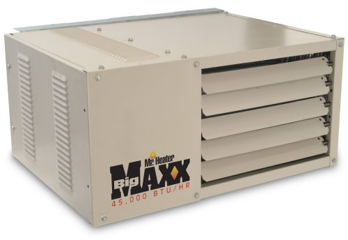 Mr. Heater Big Maxx 45,000 BTU Natural Gas Garage Unit Heater (Gas Commercial Unit Heater)