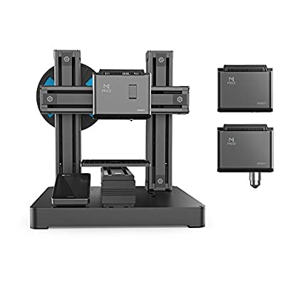 Dobot DB-MZ001 Mooz - 3D PRINTER 3 In 1 Industrial Grade Transformable Metallic, Support CNC and Laser Engraving, Free PLA Filament, PROTECTIVE Case and Goggle