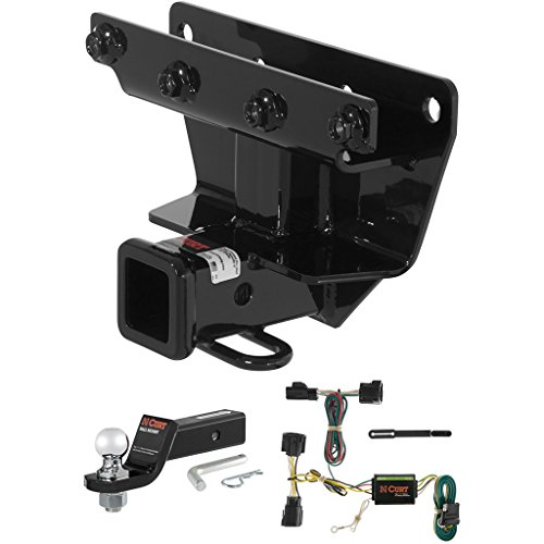 Jeep Commander Trailer Tow Wiring - CURT Class 3 Trailer Hitch Tow Package with 2