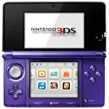 Nintendo 3DS Midnight Purple - Nintendo 3DS