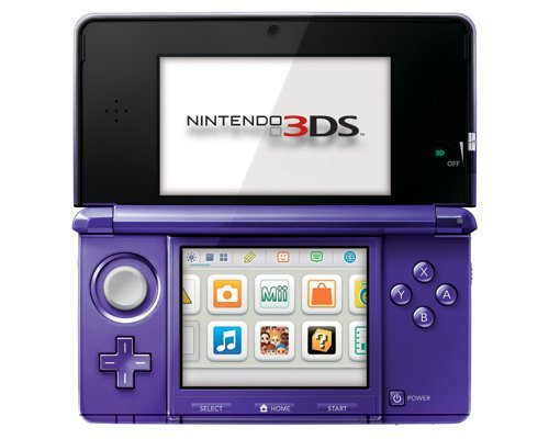 Nintendo 3DS Midnight Purple - Nintendo 3DS by Nintendo (Image #3)