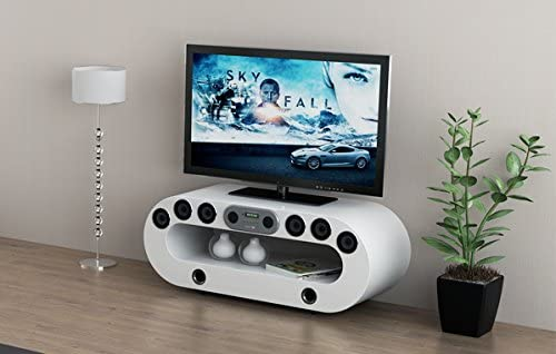 MFS Furniture Orion Smart TV Multimedia función Atril con Altavoces Integrados/subwoofer: Amazon.es: Hogar
