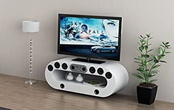 Mfs Furniture Orion Multimedia Smart Tv Stand Built In Speakers