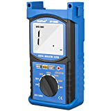 HOLDPEAK 6688B Digital Insulation Resistance Tester Measures Voltage And Insulation Resistance With Data Hold And Backlight For Electronics, Chemicals Etc.