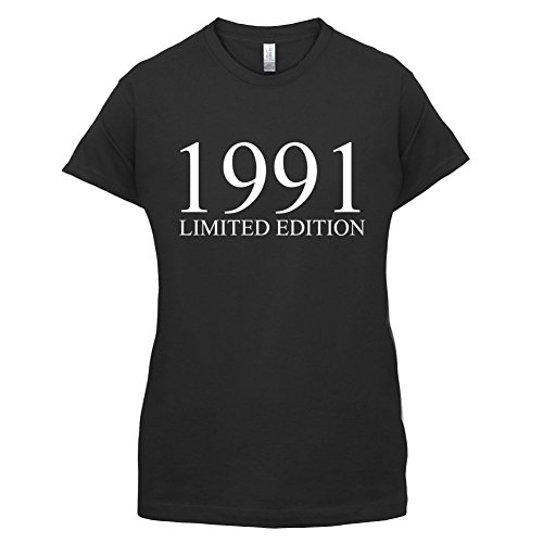 1991 Limierte Auflage / Limited Edition - 26. Geburtstag - Damen T-Shirt - Schwarz - M