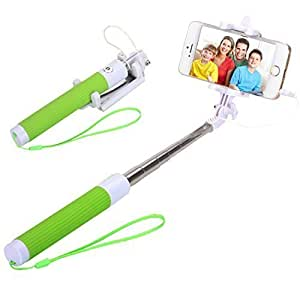 selfie stick sufum wired selfie stick for samsung galaxy s4 s5 s6 g3 note 5 drive. Black Bedroom Furniture Sets. Home Design Ideas