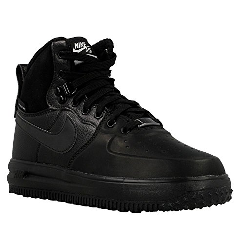 Galleon - Nike Air Lunar Force 1 Sneakerboot GS Watershield Winter Sneaker  Black 50ae3cffc6