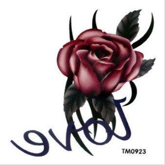 Amazon.com: Negro Totem Rosa Roja Del Amor De Rose edición ...