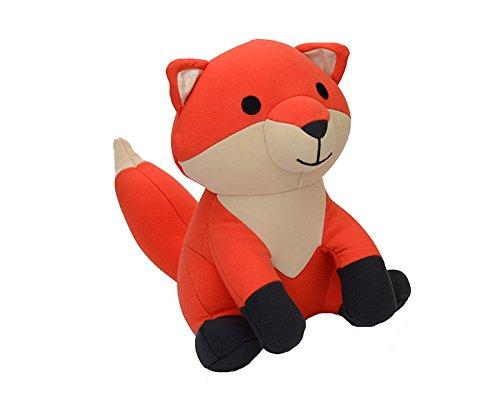 Yogibo Mate - Special Cotton Plush Toy Huggable Sidekick - Stretchy Durable Stuffed Animal  (Fox)