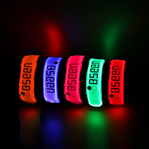 Bseen-LED-Running-Armband-Pack-of-2