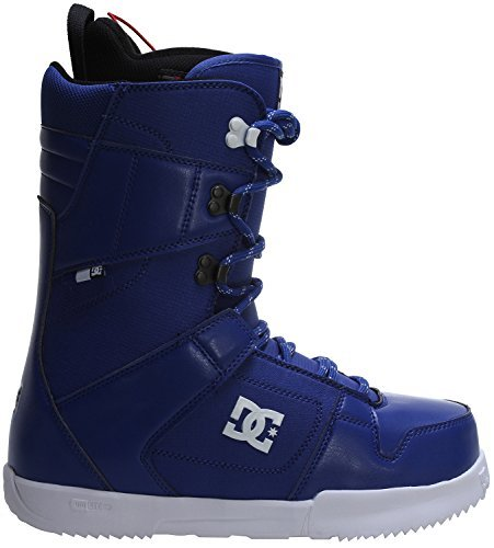 DC Men's Phase Snowboard Boot, Black/Blue, 9D by DC